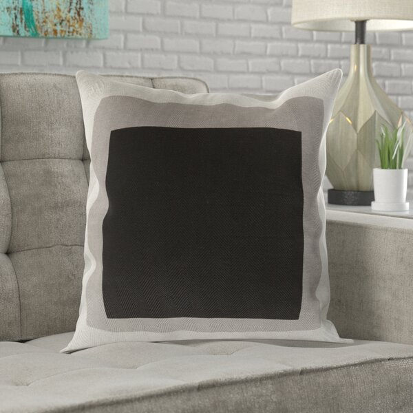 Vasquez 100% Cotton Throw Pillow Cover by Wrought Studio